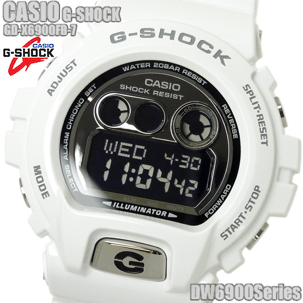 G-SHOCK カシオ 腕時計 CASIO Gショック メンズ GD-X6900FB-7 ホワイト ブランド ウォッチ プレゼント ギフト 人気 特価 WATCH うでどけい とけい【腕時計】【メンズ】【CASIO/G-SHOCK】