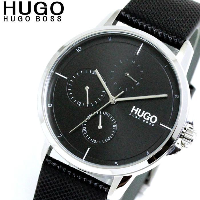 ヒューゴボス HUGO BOSS おしゃれ 大人 セクシー かっこいい 腕時計 メンズ 1530022 クォーツ ブラック プレゼント 人気 ラッピング無料可能