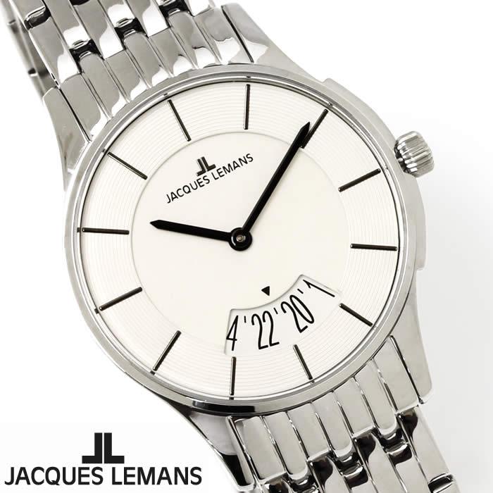 【送料無料】腕時計 レディース ジャックルマン JACQUES LEMANS 1-1822B ロンドン ペアモデル 時計 ペアウォッチ ペア腕時計 ステンレス ビッグデイト アナログ 激安 人気 とけい うでどけい ウォッチ watch tokei udedokei