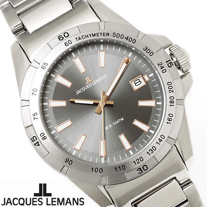 【送料無料】腕時計 メンズ ジャックルマン JACQUES LEMANS 1-1903D リバプール 時計 オフィス ビジネス ブランド ダイバーズ風 防水 人気 シルバー グレー ローズゴールド 激安 とけい うでどけい ウォッチ watch tokei udedokei