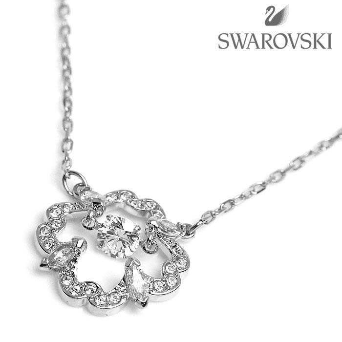 SWAROVSKI スワロフスキー ネックレス アクセサリー 5392759 SPARKLING DANCE FLOWER ホワイトデー プレゼント ラッピング無料可能 人気 かわいい 流行 SNS インスタ