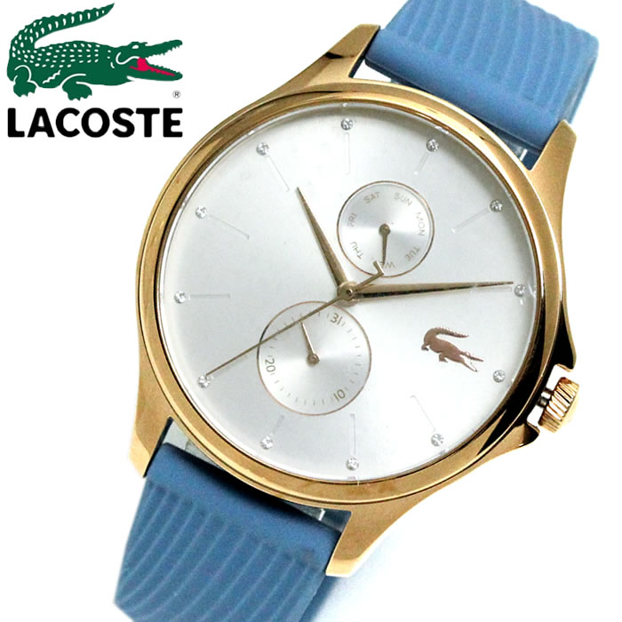 LACOSTE ラコステ ワニ 腕時計 プレゼント ラッピング無料可能 人気 おすすめ 激安 ホワイトデー レディース 女性gbyIYf76mv