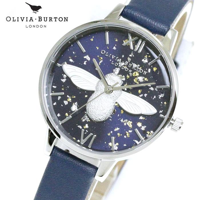 オリビアバートン Olivia Burton レディース 腕時計 レザー OB16GD04 蜂 シンプル エレガント 女性らしい 華やか フェミニン ラッピング無料 希少 おしゃれ かわいい 女性 プレゼント ブランド 上品