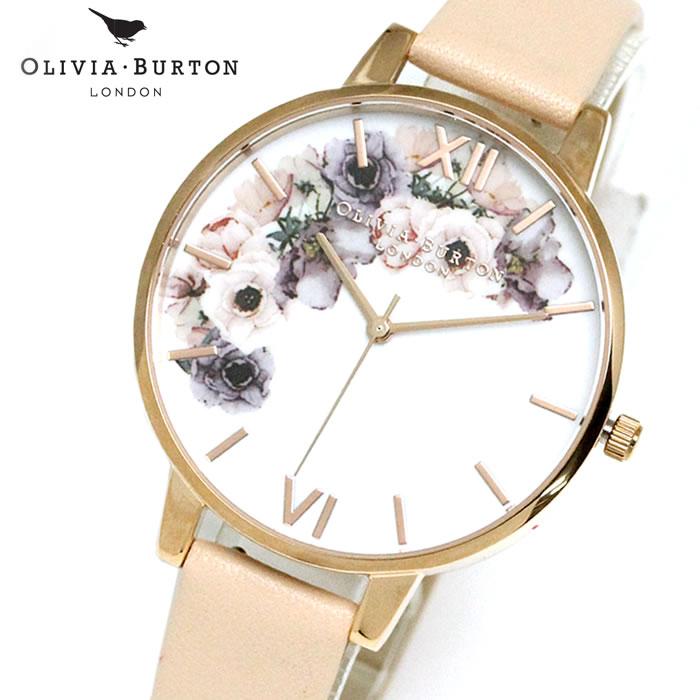 オリビアバートン Olivia Burton レディース 腕時計 レザー OB16PP30 花 レディース 腕時計 シエレガント 女性らしい 華やか フェミニン ラッピング無料 希少 おしゃれ かわいい 女性 プレゼント ブランド 上品