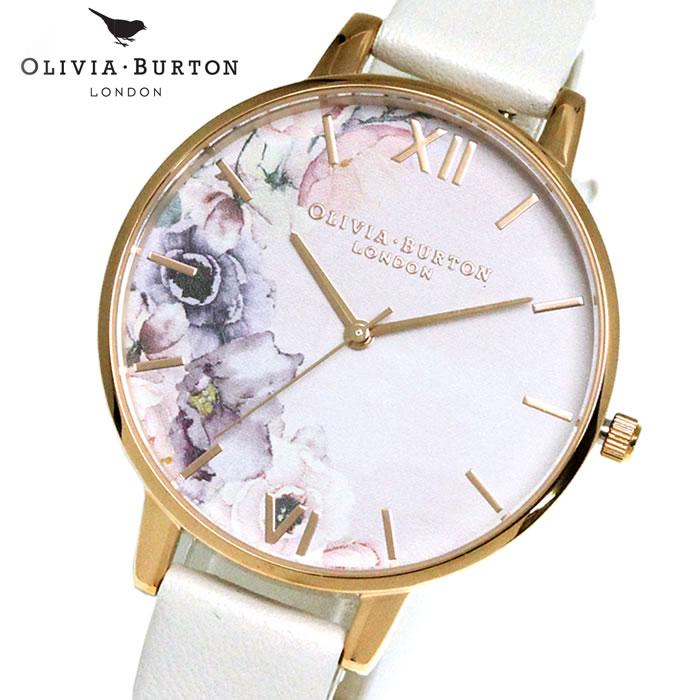 オリビアバートン Olivia Burton レディース 腕時計 レザー OB16PP31 花 レディース 腕時計 シエレガント 女性らしい 華やか フェミニン ラッピング無料 希少 おしゃれ かわいい 女性 プレゼント ブランド 上品