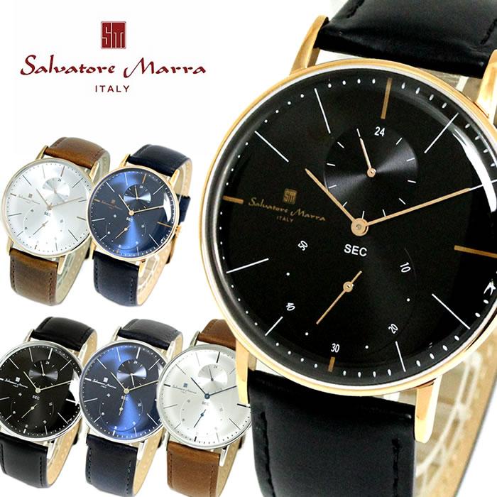 Salvatore Marra サルバトーレマーラ 腕時計 メンズ SM18103 バレンタイン ラッピング無料可能 かっこいい 人気 激安 おすすめ バレンタイン 誕生日 ギフト 大人 SNS インスタ モテ オフィス カジュアル