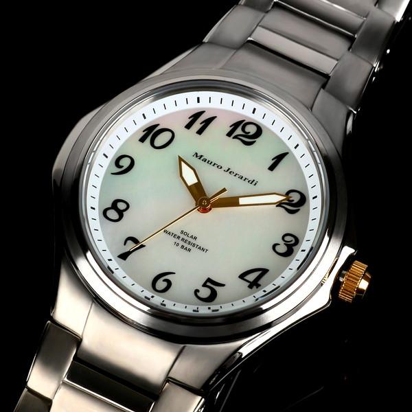 メンズ腕時計 マウロジェラルディ ウォッチ ソーラー 男性用 防水 電池交換不要 大人 エレガント 腕時計 高級感 ラッピング無料 セクシー かっこいい モテ おしゃれ 【腕時計】【ウォッチ】とけい ランキング 激安 おしゃれ お買得 mj039-4