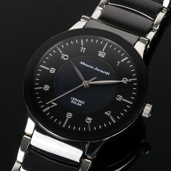 メンズ腕時計 マウロジェラルディ ウォッチ ソーラー 男性用 防水 電池交換不要 大人 エレガント 腕時計 高級感 ラッピング無料 セクシー かっこいい モテ おしゃれ 【腕時計】【ウォッチ】とけい ランキング 激安 おしゃれ お買得 mj043-2