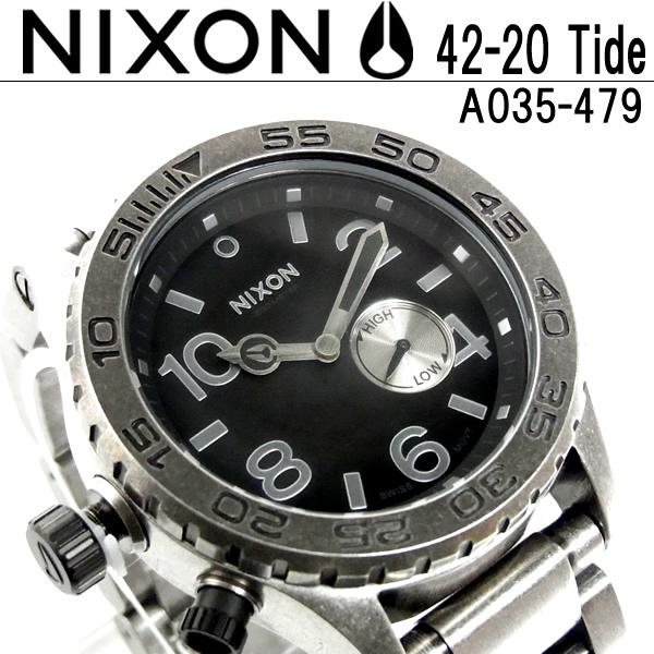 【送料無料】NIXON THE 42-20 TIDE ニクソン 腕時計 メンズ腕時計 メンズウォッチ MEN'S WATCH うでどけい【ニクソン NIXON】