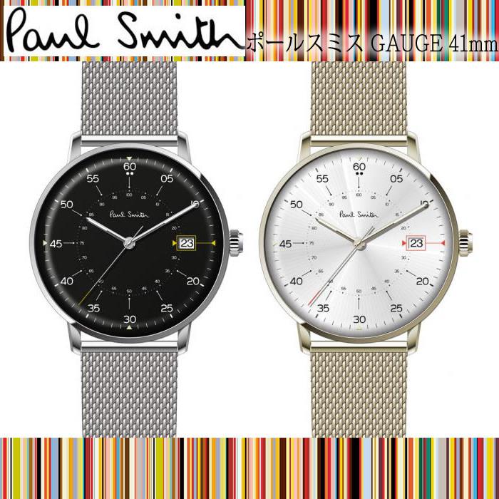 【送料無料】 ポールスミス Paul Smith メンズ 腕時計 GAUGE ゲージ 41mm アナログ クオーツ 人気 ブランド プレゼント ギフト