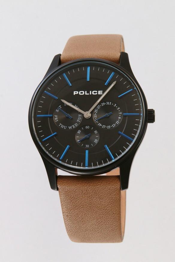 POLICE ポリス 腕時計 メンズ コーテシー 14701JSB/02 オシャレ ギフト 人気 プレゼント 勝負 イケメン ちょいワル ちょい悪 かっこいい ホスト ラグジュアリ ラッピング無料可能