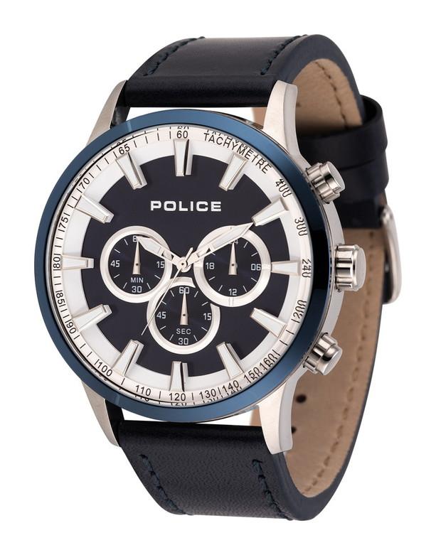 【POLICE】 ポリス 腕時計 メンズ クオーツ 腕時計 かっこいい 洗練 すっきり ビジネス 仕事 オフィス ラッピング無料可能 ランキング おすすめ 大人 SNS インスタ クール プレゼント 誕生日 クリスマス クロノグラフ