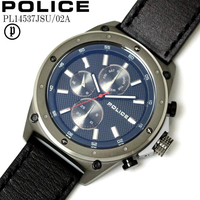 POLICE ポリス 腕時計 ウォッチ メンズ アナログ マルチファンクション コンセプト PL14537JSU-02A ファッション おしゃれ プレゼント かっこいい ラッピング無料可能 誕生日 人気 お祝い ランキングおすすめ大人【POLICE】 【腕時計】