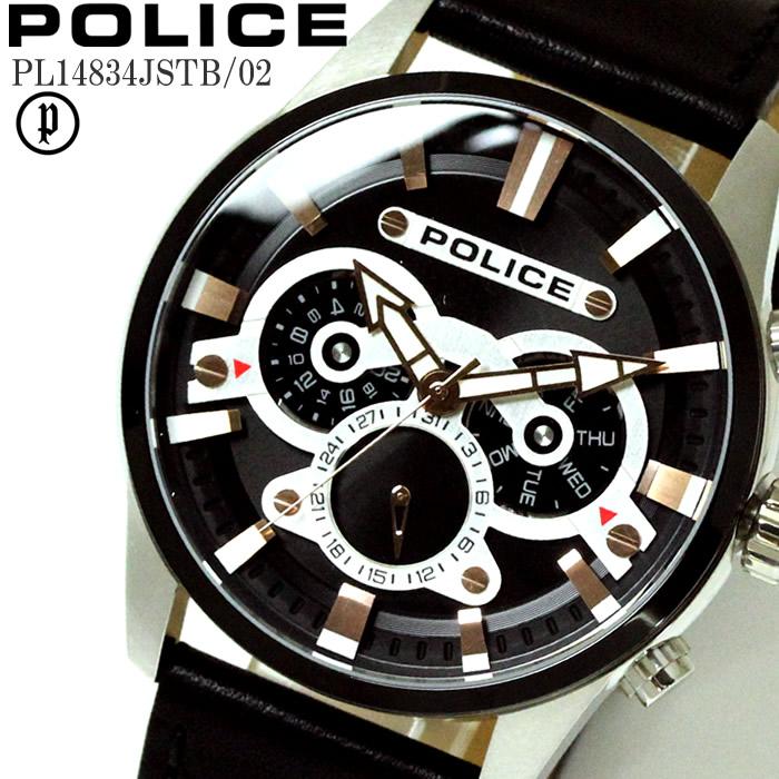 POLICE ポリス 腕時計 ウォッチ メンズ エスケープ マルチファンクション PL14834JSTB-02 ファッション雑誌 おしゃれ プレゼント ギフト かっこいい ラッピング無料可能 誕生日 人気 お祝い ランキングおすすめ大人【POLICE】 【腕時計】