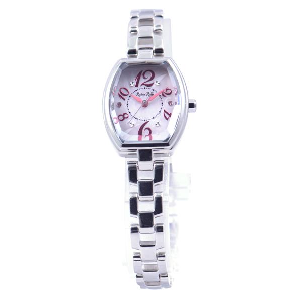 ルビンローザ RUBIN ROSA 腕時計 レディース ウォッチ ブランド 電池交換不要 雑誌 モデル 人気 かわいい キラキラ おしゃれ ラッピング無料可能 クリスマス プレゼント 誕生日 ソーラー 防水 R018SOLSPK 【腕時計】とけい 流行 ジュエリー アクセサリー ファッション