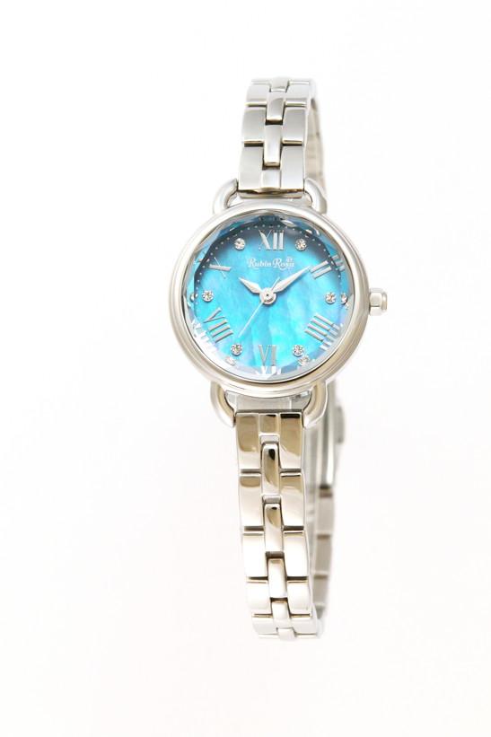 ルビンローザ 腕時計 レディース ブランド 電池交換不要 ソーラー R019SOLSBL ブルー/ステンレス ラッピング無料可 人気 プレゼント おしゃれ 芸能人 モデル おすすめ ギフト プレゼント おしゃれ 【腕時計】 ランキング 流行 激安