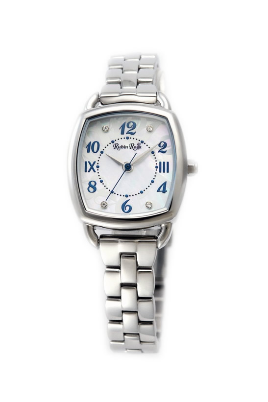 ルビンローザ 腕時計 レディース ブランド 電池交換不要 ソーラー R020SOLSWH ホワイト/シルバー ラッピング無料可 人気 プレゼント おしゃれ 芸能人 モデル おすすめ ギフト プレゼント おしゃれ 【腕時計】 ランキング 流行 激安