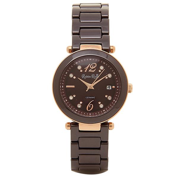 ルビンローザ RUBIN ROSA 腕時計 レディース ウォッチ ブランド 電池交換不要 雑誌 モデル 人気 かわいい キラキラ おしゃれ ラッピング無料可能 クリスマス プレゼント 誕生日 ソーラー 防水 R307PBR 【腕時計】とけい 流行 ジュエリー アクセサリー ファッション
