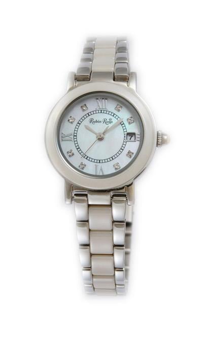 ルビンローザ 腕時計 レディース ブランド 電池交換不要 ソーラー セラミック 土屋太鳳 R309SBE ラッピング無料可 人気 プレゼント おしゃれ 芸能人 モデル おすすめ ギフト プレゼント おしゃれ 【腕時計】 ランキング 流行 激安