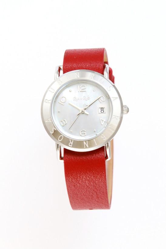 ルビンローザ 腕時計 レディース ブランド 電池交換不要 ソーラー R601SWHMOP レッドラッピング無料可 人気 プレゼント おしゃれ 芸能人 モデル おすすめ ギフト プレゼント おしゃれ 【腕時計】 ランキング 流行 激安