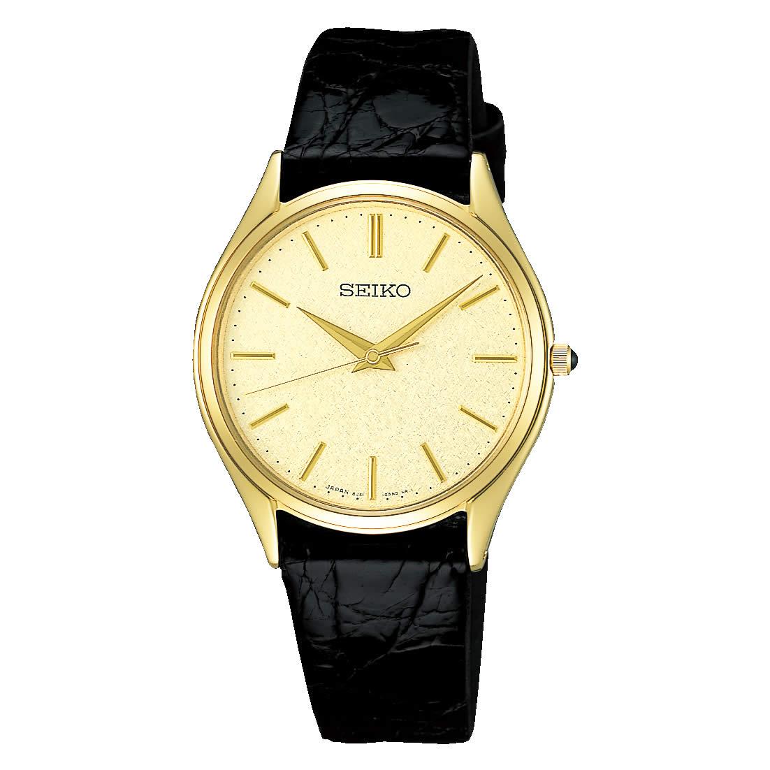 【送料無料】【国内正規品】セイコー ドルチェ SEIKO DOLCE 腕時計 革ベルト SACM150 メンズ 時計 オフィス ペアウォッチ ペア腕時計 レザー ワニ革 ビジネス シンプル 人気 うでどけい とけい WATCH 時計【取り寄せ】