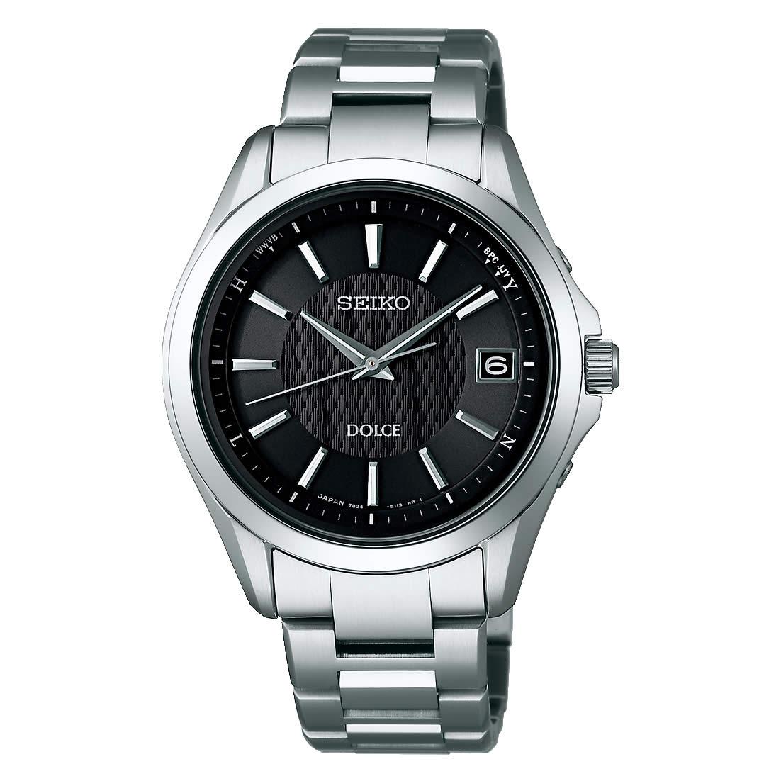 【送料無料】【国内正規品】セイコー ドルチェ SEIKO DOLCE 腕時計 ソーラー 電波 チタン SADZ177 メンズ 時計 100M 10気圧防水 オフィス 金属アレルギー対応 人気 うでどけい とけい WATCH 時計【取り寄せ】