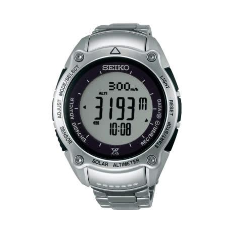 【送料無料】【国内正規品】プロスペックス セイコー アルピニスト ソーラー デジタル 腕時計 SBEB013 SEIKO PROSPEX 登山 トレッキング 気圧計 高度計 方位計 多機能 アウトドア シルバー 人気【取り寄せ】