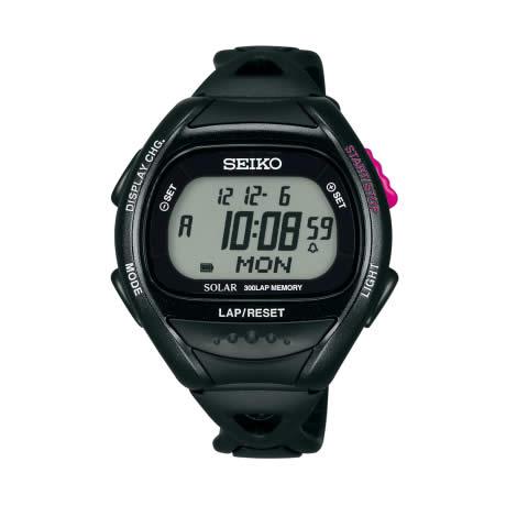 【国内正規品】プロスペックス セイコー スーパーランナーズ ソーラー 腕時計 SBEF001 メンズ SEIKO PROSPEX ランニングウォッチ SUPER RUNNERS ブラック ピンク 人気 プレゼント【取り寄せ】