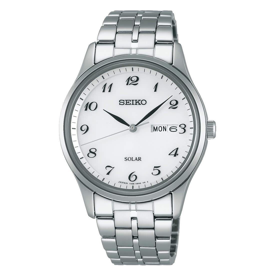 【送料無料】【国内正規品】セイコー スピリット SEIKO SPIRIT 腕時計 ソーラー メンズ SBPX067 100M 10気圧防水 ビジネス シンプル ソーラー腕時計 きれいめ 人気 うでどけい とけい WATCH 時計【取り寄せ】
