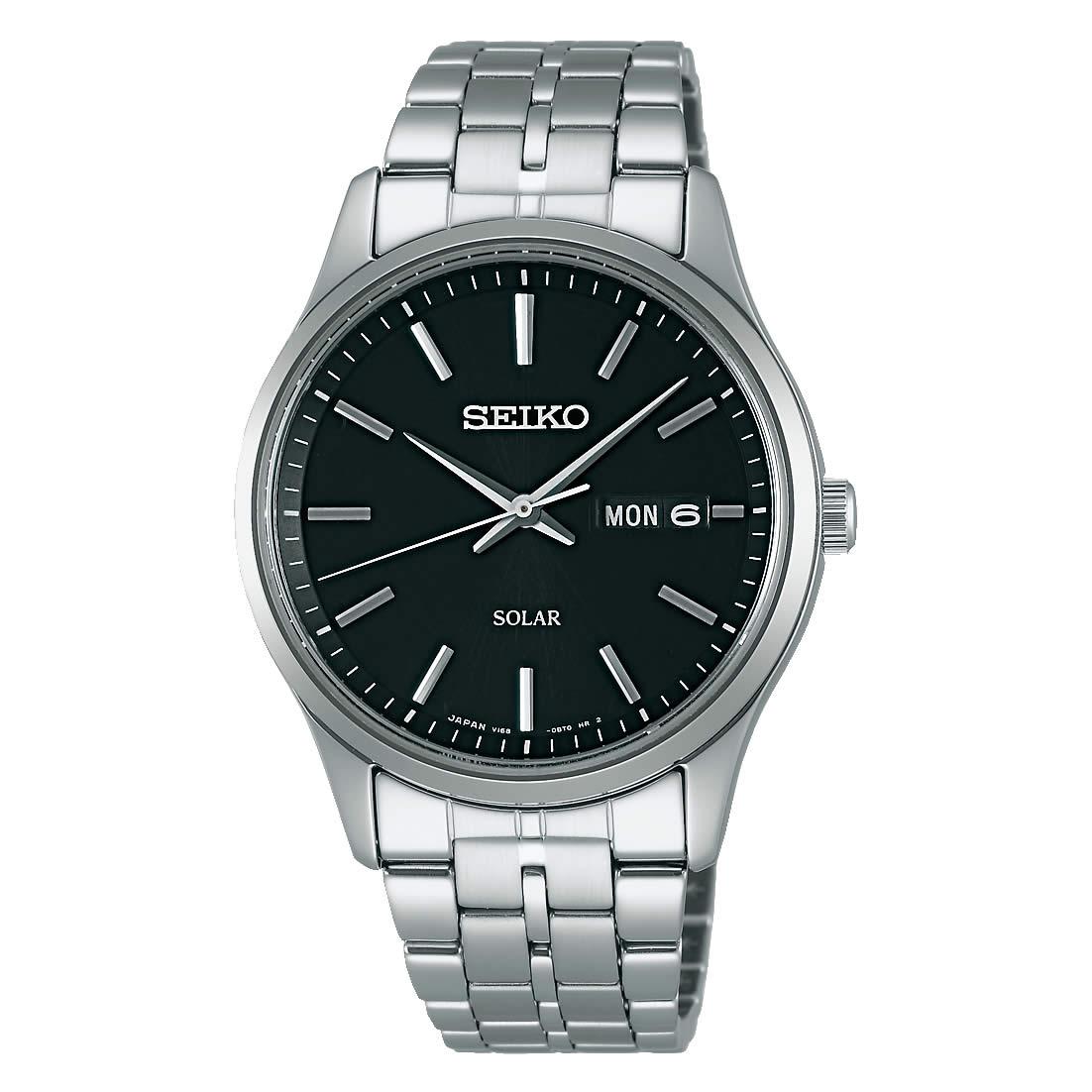 【送料無料】【国内正規品】セイコー スピリット SEIKO SPIRIT 腕時計 ソーラー メンズ SBPX069 100M 10気圧防水 ビジネス シンプル ソーラー腕時計 きれいめ 人気 うでどけい とけい WATCH 時計【取り寄せ】