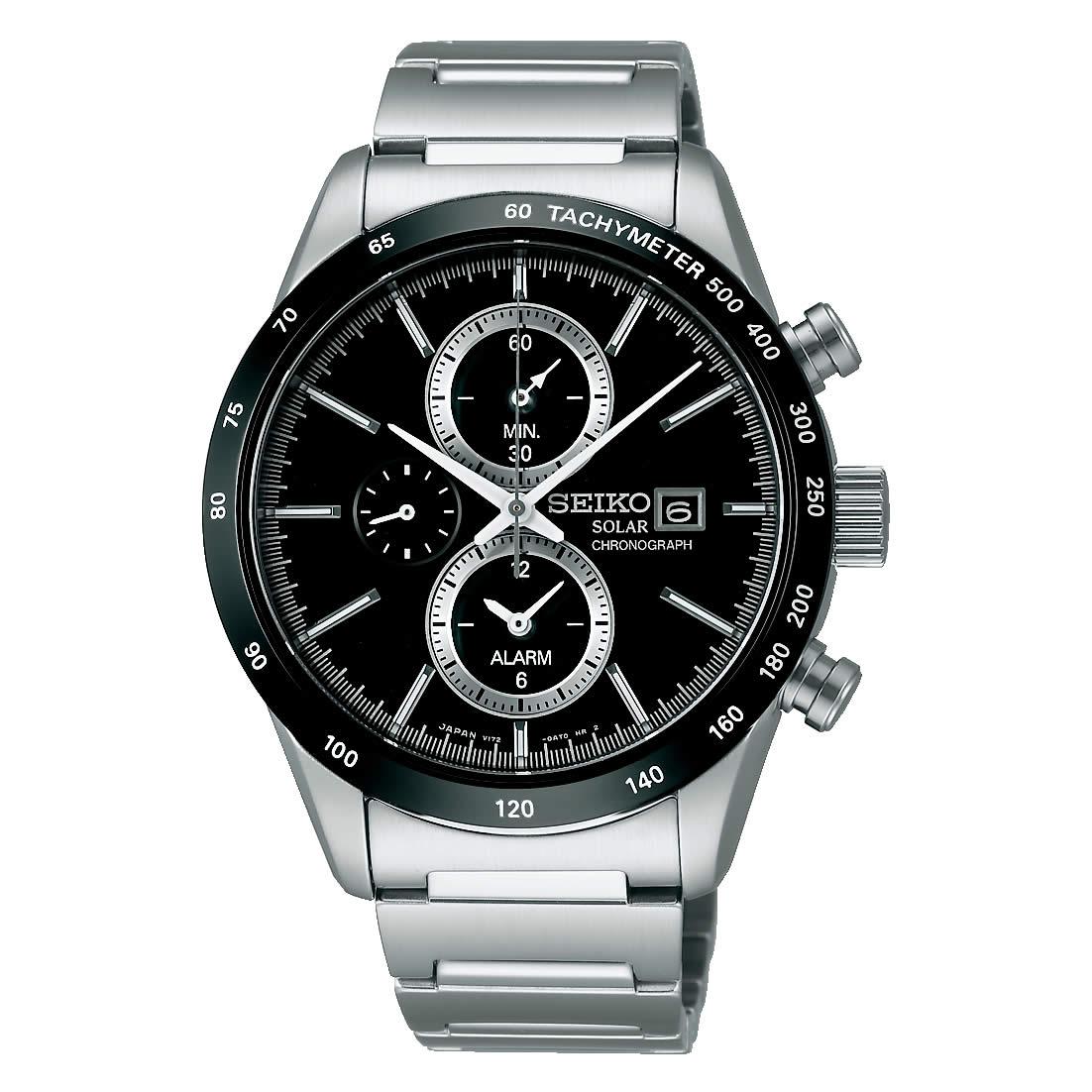 【送料無料】【国内正規品】セイコー スピリット SEIKO SPIRIT 腕時計 ソーラー クロノグラフ メンズ SBPY119 100M 10気圧防水 ビジネス シンプル ソーラー腕時計 きれいめ 人気 うでどけい とけい WATCH 時計【取り寄せ】