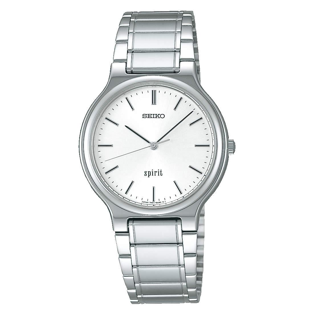 【送料無料】【国内正規品】セイコー スピリット SEIKO SPIRIT 腕時計 クオーツ メンズ SCDP003 50M 5気圧防水 ビジネス シンプル クォーツ 薄型 薄い きれいめ 人気 うでどけい とけい WATCH 時計【取り寄せ】