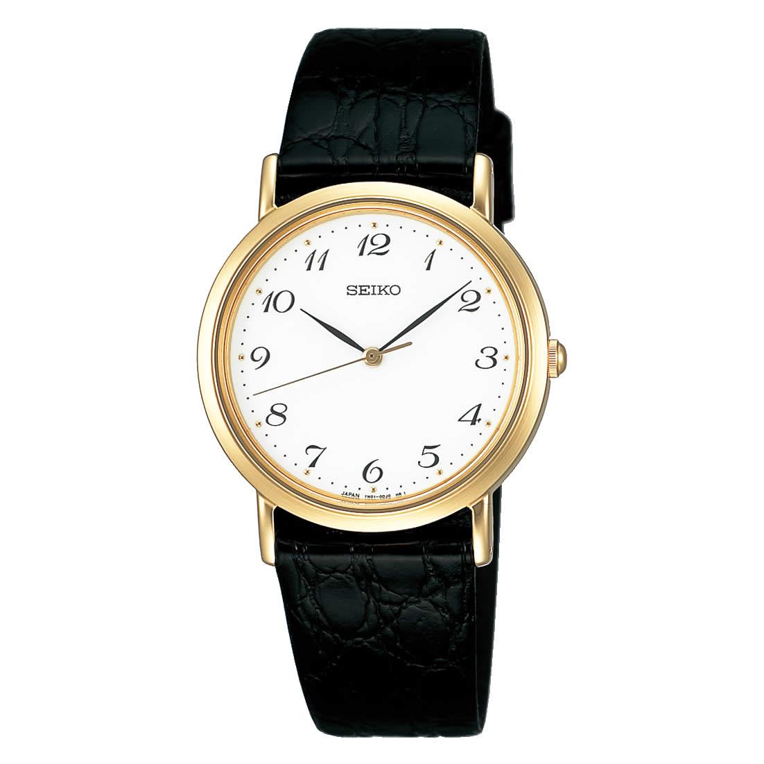【送料無料】【国内正規品】セイコー スピリット SEIKO SPIRIT 腕時計 クオーツ 革ベルト メンズ SCDP030 50M 5気圧防水 ビジネス シンプル ペアウォッチ ペア腕時計 レザー 型押し 人気 うでどけい とけい WATCH 時計【取り寄せ】
