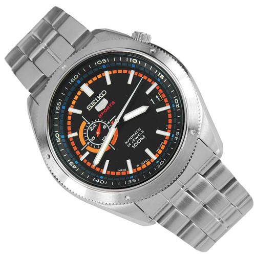 セイコー SEIKO セイコー5 自動巻き スポーツ 5 SPORTS メンズ 腕時計 ブラック SSA067J1 かっこいい