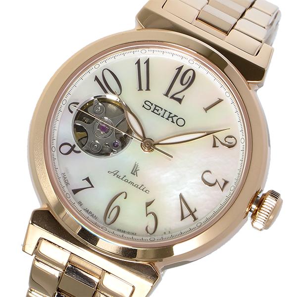 セイコー SEIKO LUKIA ルキア 逆輸入 日本製 自動巻き レディース 腕時計 SSA836J1 かわいい 大人 プレゼント ホワイトデイ ラッピング無料 おすすめ ランキング ブランド おしゃれ エレガント モテ