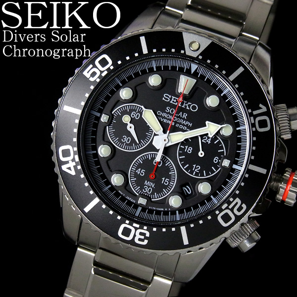 【大放出セール】 【送料無料】セイコー SEIKO 腕時計 海外モデル 逆輸入 クロノグラフ ダイバーズ ソーラー SSC015PC SSC015P1 SEIKO セイコー ダイバー クロノグラフ メンズ腕時計 人気モデル うでどけい とけい 時計 WATCH ウォッチ【メンズ】【SEIKO】【腕時計】【クロノグラフ】, 大垣美正堂 ca2e2dfd
