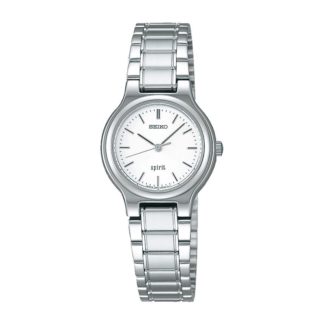 【送料無料】【国内正規品】セイコー スピリット SEIKO SPIRIT 腕時計 クオーツ レディース SSDN003 50M 5気圧防水 ビジネス シンプル クォーツ 薄型 薄い きれいめ 人気 うでどけい とけい WATCH 時計【取り寄せ】