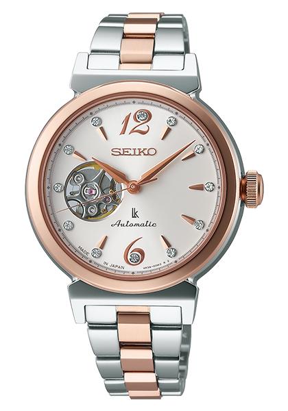 【送料無料】【取り寄せ】ルキア セイコー 腕時計 メカニカル 自動巻 レディース LUKIA SEIKO SSVM010 機械式 ブランド スワロフスキー スケルトン シルバー ローズゴールド 時計 人気 プレゼント ギフト うでどけい【国内正規品】