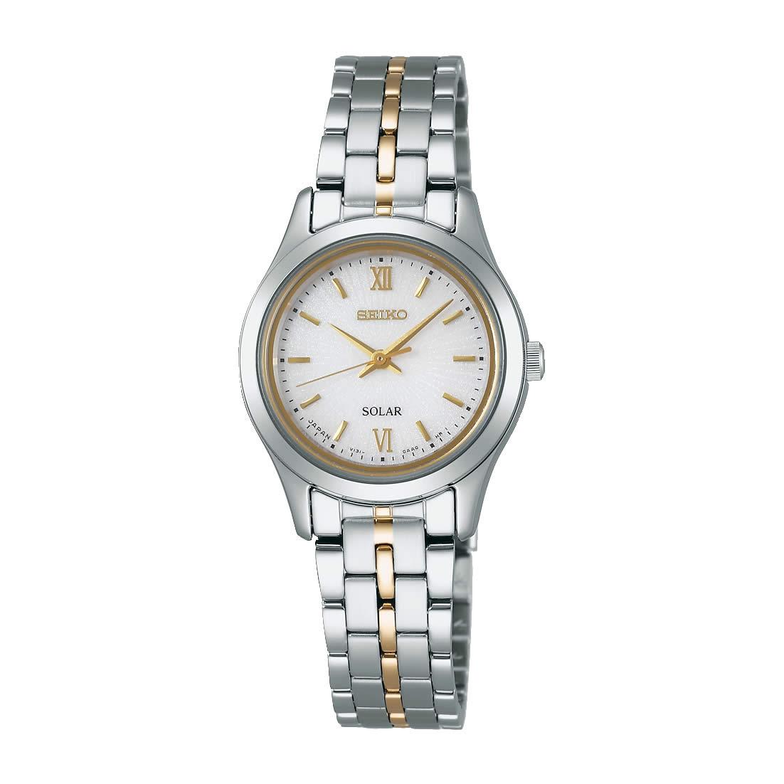 【送料無料】【国内正規品】セイコー スピリット SEIKO SPIRIT 腕時計 ソーラー レディース STPX011 100M 10気圧防水 ビジネス シンプル ソーラー腕時計 きれいめ 人気 うでどけい とけい WATCH 時計【取り寄せ】