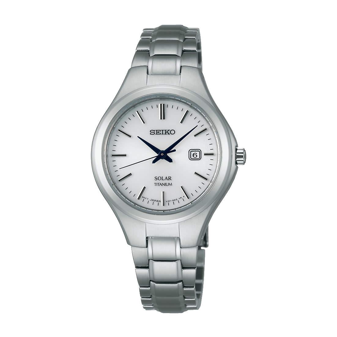 【送料無料】【国内正規品】セイコー スピリット SEIKO SPIRIT 腕時計 ソーラー チタン レディース STPX023 100M 10気圧防水 ビジネス シンプル ソーラー腕時計 ペアウォッチ 金属アレルギー対応 うでどけい とけい WATCH 時計【取り寄せ】