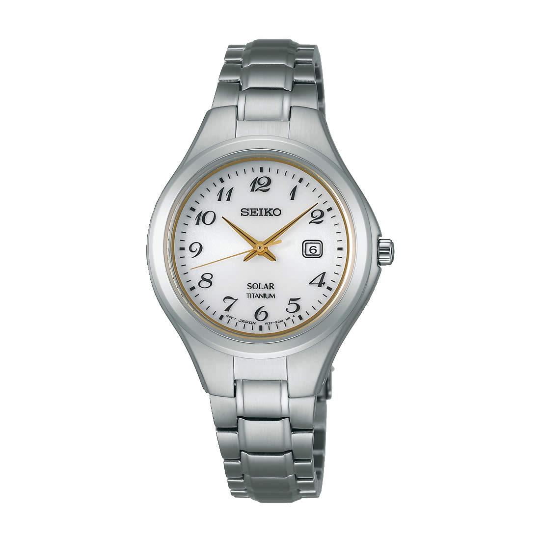 【送料無料】【国内正規品】セイコー スピリット SEIKO SPIRIT 腕時計 ソーラー チタン レディース STPX025 100M 10気圧防水 ビジネス シンプル ソーラー腕時計 ペアウォッチ 金属アレルギー対応 うでどけい とけい WATCH 時計【取り寄せ】
