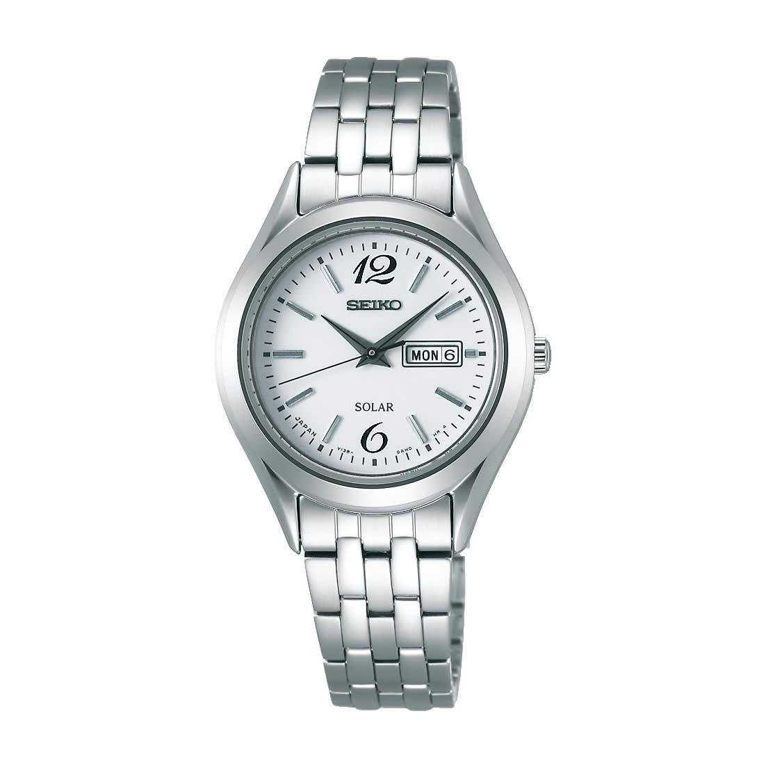 【送料無料】【国内正規品】セイコー スピリット SEIKO SPIRIT 腕時計 ソーラー レディース STPX027 日常生活用防水 ビジネス シンプル ソーラー腕時計 きれいめ 人気 うでどけい とけい WATCH 時計【取り寄せ】