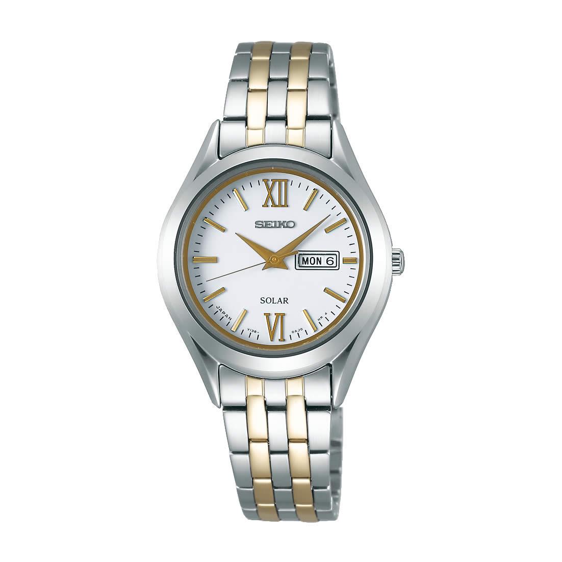 【送料無料】【国内正規品】セイコー スピリット SEIKO SPIRIT 腕時計 ソーラー レディース STPX033 日常生活用防水 ビジネス シンプル ソーラー腕時計 きれいめ 人気 うでどけい とけい WATCH 時計【取り寄せ】