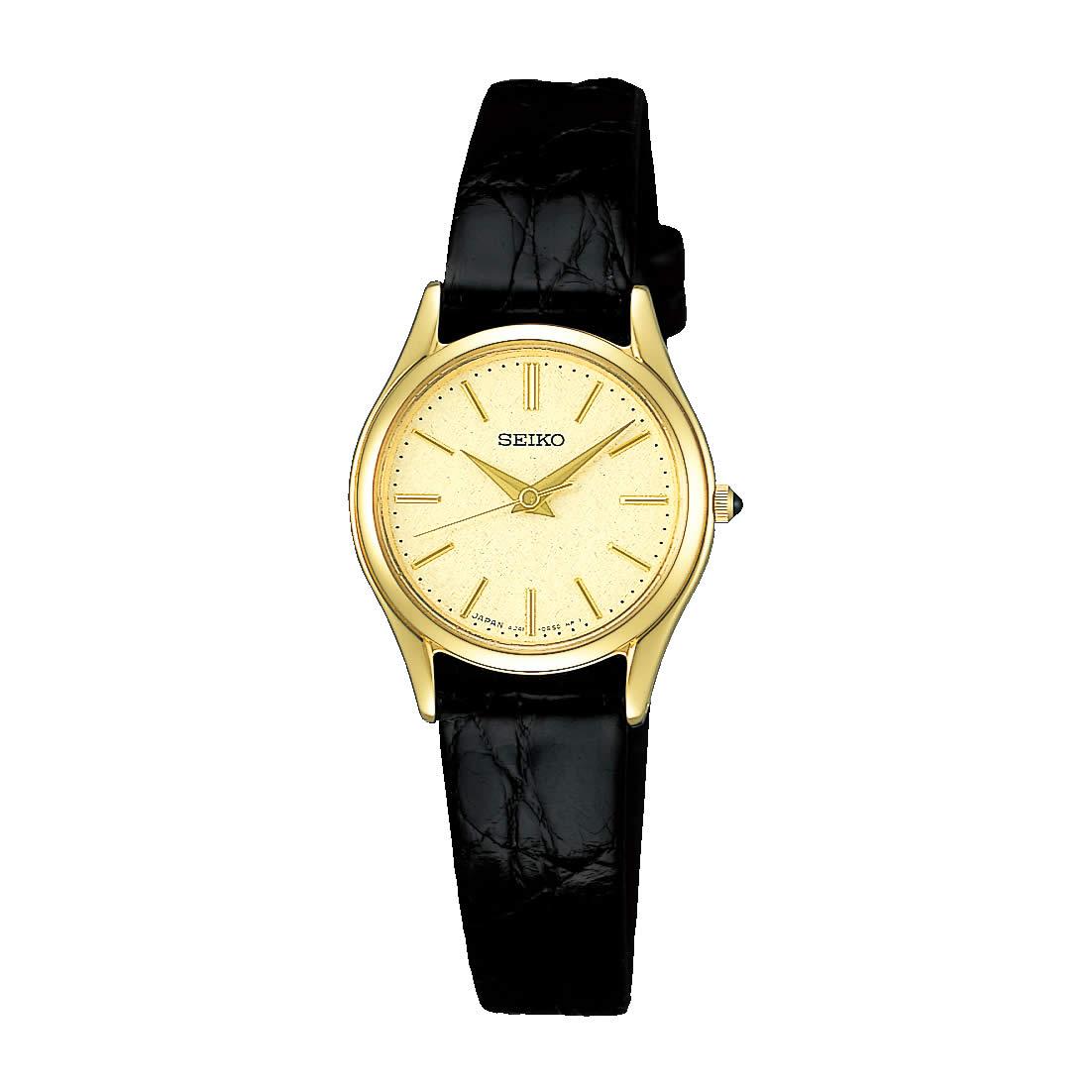 【送料無料】【国内正規品】セイコー エクセリーヌ SEIKO EXCELINE 腕時計 革ベルト SWDL160 レディース 時計 オフィス ペアウォッチ ペア腕時計 レザー ワニ革 ビジネス シンプル 人気 うでどけい とけい WATCH 時計【取り寄せ】