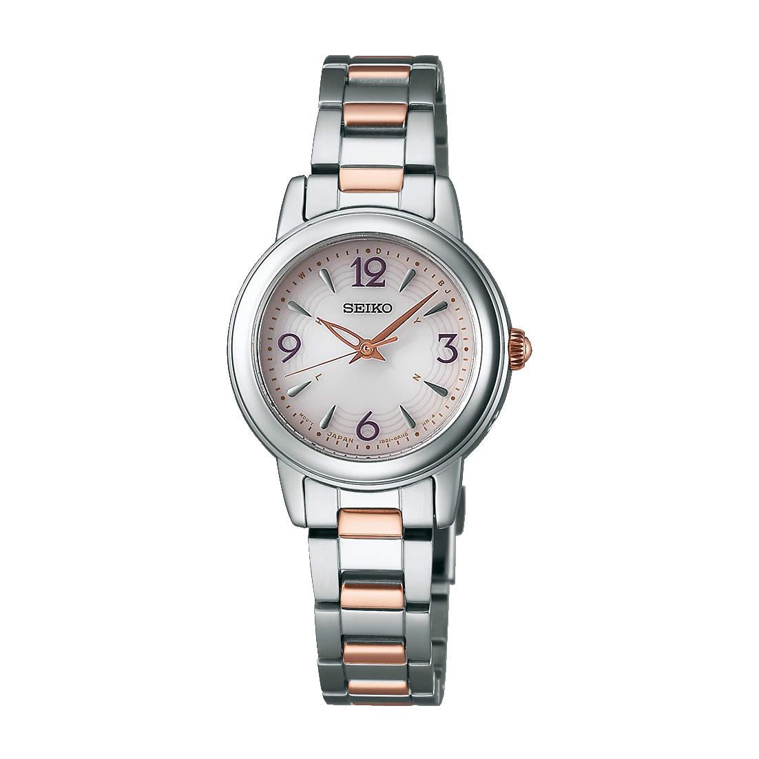 【送料無料】【国内正規品】セイコー ティセ 腕時計 ソーラー 電波 レディース SWFH019 SEIKO TISSE 電波ソーラー腕時計 ブレス 細身 華奢 シンプル 人気 うでどけい とけい WATCH 時計【取り寄せ】
