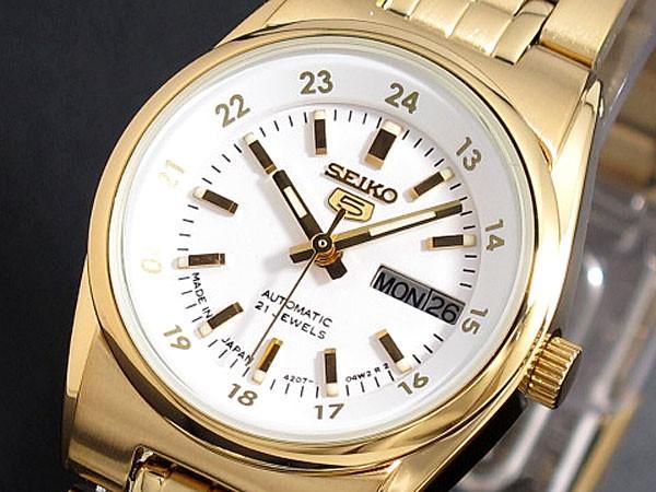 SEIKO 5 セイコー5 逆輸入 日本製 レディース 自動巻き 腕時計 SYMC02J1 電池交換不要 かわいい プレゼント おしゃれ ラッピング無料 ランキング ブランド おしゃれ かっこいい 高級 モテ 【腕時計】 【セイコー】 【レディース】