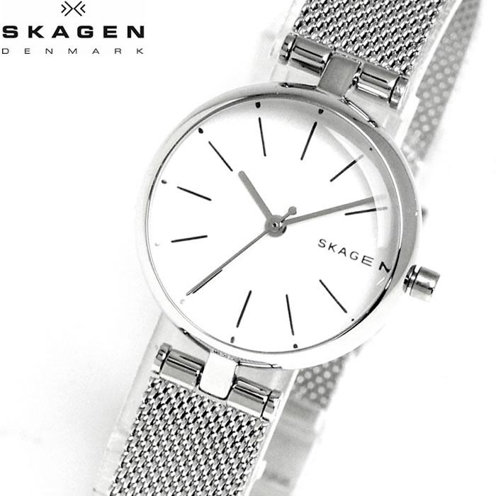 【SKAGEN】 スカーゲン 腕時計 シグネチャー 26mm レディース 時計 SKW2642 プレゼント ラッピング無料 ホワイトデー 誕生日 ブランド 時計 激安 かわいい 大人 上品 オフィス 愛され SNS インスタ
