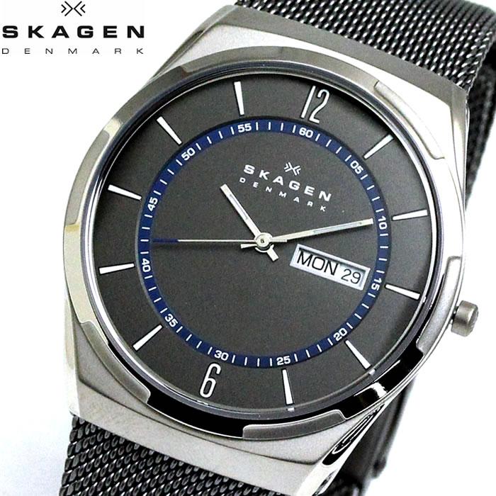 【SKAGEN】 スカーゲン 腕時計 メンズ TITANIUM チタン ウォッチ シルバー チタン SKW6078 プレゼント ラッピング無料 バレンタイン 誕生日 ブランド 時計 激安 かっこいい 大人 上品 オフィス モテ SNS インスタ