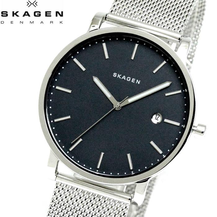 【SKAGEN】 スカーゲン 腕時計 メンズ ハーゲン 40mm カレンダー クオーツ SKW6327 ネイビー watch 時計 プレゼント ラッピング無料 バレンタイン 誕生日 ブランド 時計 激安 かっこいい モテ 大人 上品 オフィス SNS インスタ