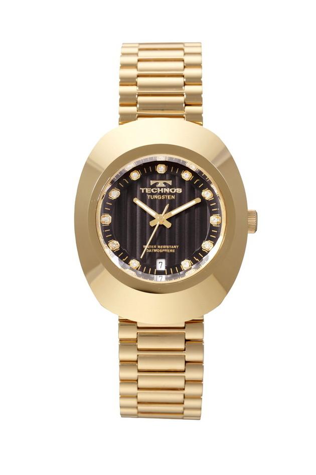 TECHONOS テクノス メンズ腕時計 アナログ クォーツ タングステンベゼル T9475GB ラッピング無料可能 おしゃれ 誕生日 かっこいい バレンタイン 流行 ハピアン クリスマス 人気 プレゼント 出荷 おすすめ WEB限定